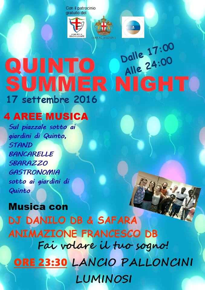 Quinto Summer Night